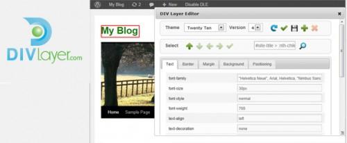 DIV Layer Editor