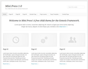 genesis-child-theme-minipress