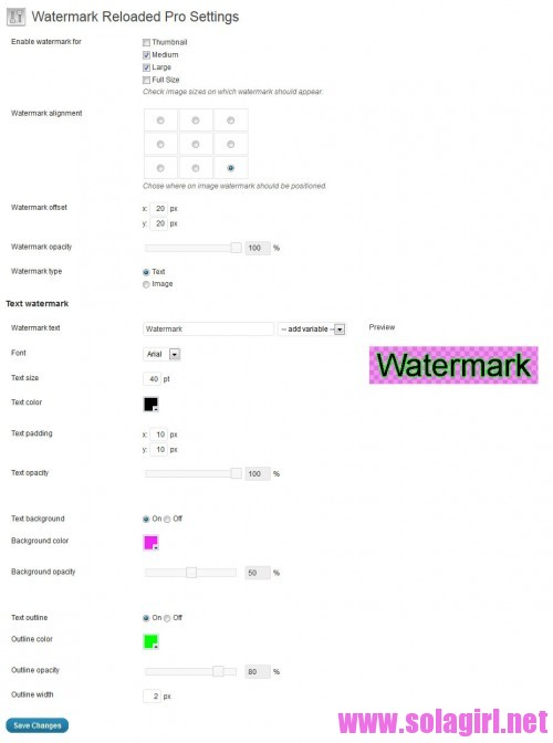 watermark reloaded pro