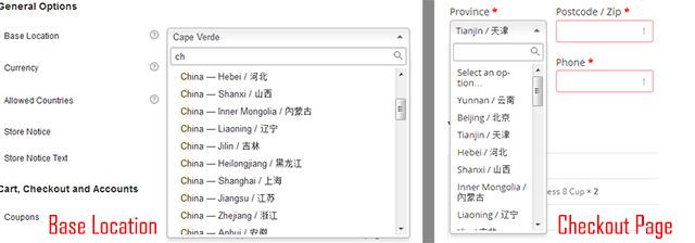 选择中国的城市