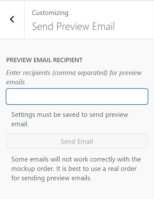 WooCommerce邮件测试
